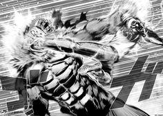 Manga One Punch Man Capítulo 33 en Español Online Comic Drawing, Manga Drawing, Martial Arts Manga, Fighting Drawing, One Punch Man Manga, Anime Fight, Manga Artist, Comic Panels, Saitama