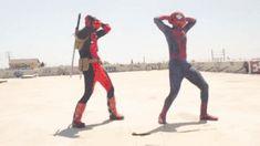 Deadpool Vs spiderman #marvel #funny #cosplayclass
