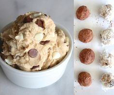 You're probably thinking, What? Aren't all cookie doughs edible?Yes! Technically. ;) But this is a cookie dough made for eating, not baking! It's ma...