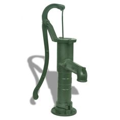 Outdoor Garden Hand Water Pump Well Pitcher Press Suction Yard Ponds Cast Iron for sale online Garden Water Pump, Irrigation Pumps, Plumbing Pumps, Cast Iron, It Cast, Irrigation Controller, Stainless Steel Pipe, Succulent Care, Water Tap