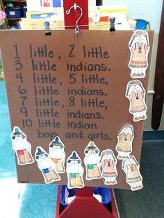 10 Little Indians Chart