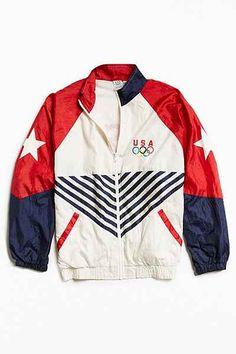 Vintage Nike Olympic Rings Windbreaker Jacket