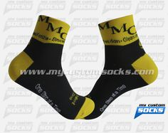 Socks designed by My Custom Socks for McKenzie, Bruceton, Dresden in McKenzie,Tennessee.Cycling socks made with Coolmax fabric. #Cycling custom socks - free quote! ////// Calcetas diseñadas por My Custom Socks para McKenzie, Bruceton, Dresden en McKenzie,Tennessee. Calcetas para Ciclismo hechas con tela Coolmax. #Ciclismo calcetas personalizadas - cotización gratis! www.mycustomsocks.com