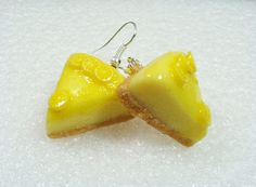 Lemon Cheesecake earrings
