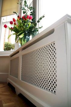 At C & S Interiors, We Design And Manufacture Beautiful Radiator Covers In London - Perfect For Enhancing The Décor Of A Room. Decorating Stairway Walls, Home Radiators, Under Stairs Cupboard, Designer Radiator, Radiator Cover, Front Rooms, Wooden Doors, Interior Design Inspiration, Home And Living