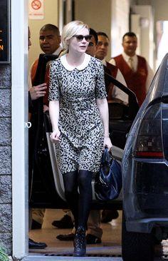 Kirsten Dunst wearing SS12 Resort Orla Kiely via Coolspotters