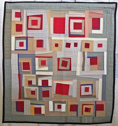 Gwen Marston was the keynote speaker at this year's QuiltCon West 2016 in Pasadena, and had a special exhibition GWEN MARSTON: Abstract Quilts in Solids. A trailblazer and well-known interna…