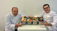 Secondo round di ricette mix tropicali alla MIG 2014:  - Goiaba e Maracuja   - Maracuja e salmone (sorbetto gastronomico)  - Papaya e Lime  - Maracuja e cioccolato fondente