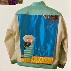 Fashion Details, Fashion Design, Silk Thread, Jacket Style, Needlework, Street Wear, Street Style, My Style, Casual
