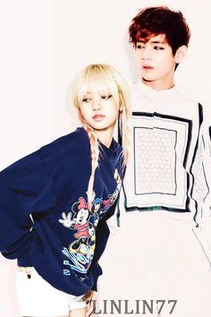Taehyung(bts) x Lisa(blackpink) [taelice/vlisa] by Linlin77