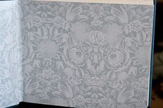 Custom Endpapers supplied by the customer.