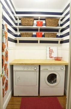 decorar lavanderia