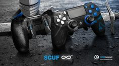 The Knights Of SCUF Infinity4PS for Playstation 4. Personalized Design and Function, Scuf Gaming creates handcrafted, professional controllers, and high-end gaming accessories for PC and Console. Tactical Gear for Elite Gamers.