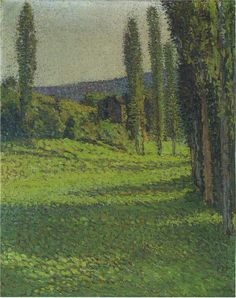 By the Fields 2 | Henri Martin | oil painting