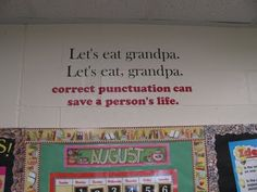 I obviously need this sign in my classroom! This is a great blog with classroom ideas for an upper grade classroom.