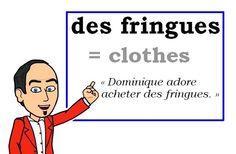 (fr. fam., n.f. plur.) = des vêtements = (esp.) ropa, (cat.) roba, (néerl.) kleren. Une fiche de: Les Machin