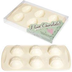 Easter Egg White Chocolate Baking Mould | DotComGiftShop