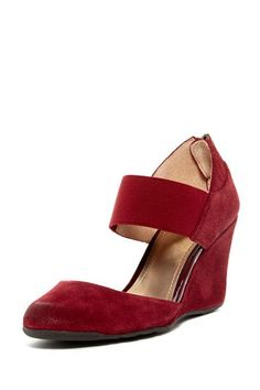 Kenneth Cole Reaction Tell Me Not Mary Jane Wedge by Kenneth Cole on @HauteLook