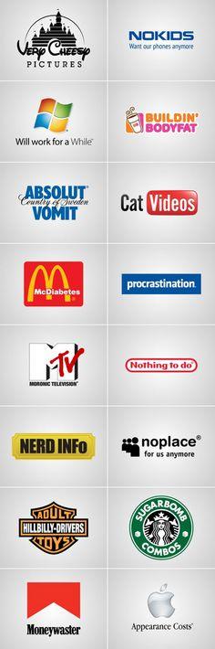 Truthful brand slogan. Hahaha