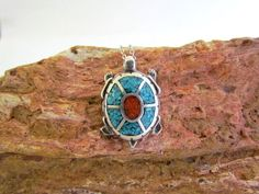 Native American Cast Sterling Silver Turquoise & by CoyoteMoon62
