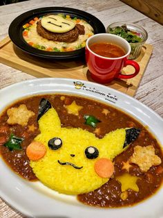 The Pokemon Cafe is reservations-only. I highly recommend making them as early as possible! Japanese Snacks, Japanese Food, Pokemon Recipe, Cafe Japan, Tokyo Food, Kawaii Cooking, Hello Kitty Themes, Little Chef, Pokemon Birthday