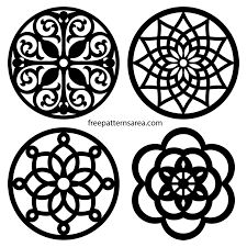 Trivets Vector Coaster Scroll Saw Patterns Scroll Saw Trivet Coaster Circle Vector PatternsScroll Saw Trivet Coaster Circle Vector Patterns Vector Pattern, Pattern Art, Pattern Design, Art Patterns, Cross Patterns, Circle Pattern, Free Pattern, Design Design, Woodworking Patterns