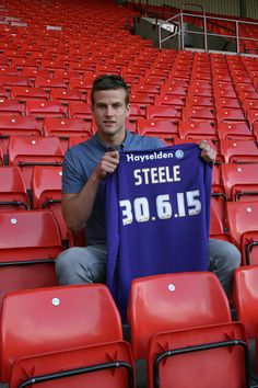 Luke Steele extended his Barnsley career by another two years on Wednesday 26 June 2013