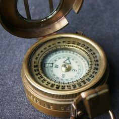 stunning vintage compass... great father's day gift? graduation gift? gift in general gift?