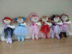 Lindas Bailarinas de Pano!