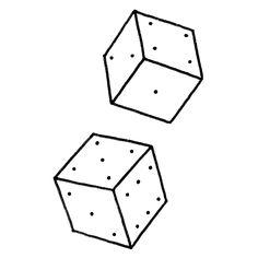 Cube x2 Available for tattoo  romanmateutsa@gmail.com