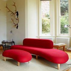 Noguchi Sofa & Ottoman | Rove Concepts