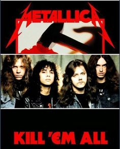 """438 Likes, 4 Comments - MilanicaChannel (@milanicachannel) on Instagram: """"#METALLICA #KILLEMALL"""""""