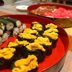 sakyu's dish photo 七夕お寿司パーリー   http://snapdish.co #SnapDish #晩ご飯 #七夕 #お寿司