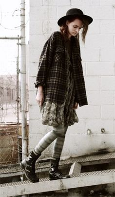 vintage grunge - can we call the 90's vintage now?