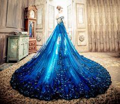 Sapphire Royalty (No. 9 Wedding)