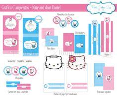 #Gráfica para #cumpleaños - #Kitty and #dear #Daniel