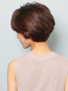 Short-Haircut-with-Full-Backs Short Haircuts for Older Women 2018-2019 Haircut For Older Women, Short Hair Cuts For Women, Short Hairstyles For Women, Bob Hairstyles, Wedge Hairstyles, Latest Hairstyles, Wedding Hairstyles, Pictures Of Short Haircuts, New Short Haircuts
