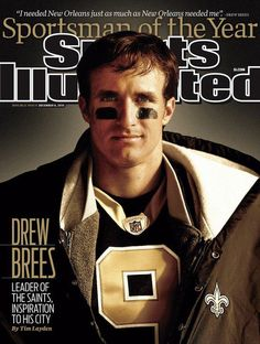 Drew Brees Sportsman of the Year