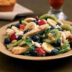 Chicken-Fruit Salad   CookingLight.com