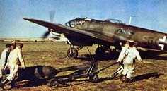 He 111 H, WWII.