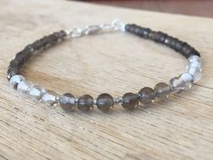 A personal favourite from my Etsy shop https://www.etsy.com/no-en/listing/601302837/smoky-quartz-bracelet-root-chakra-brown