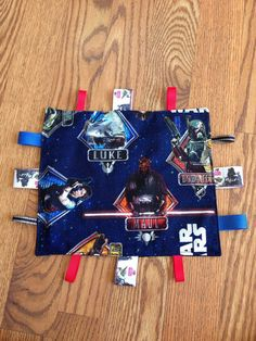 Star Wars Baby Teething Blanket