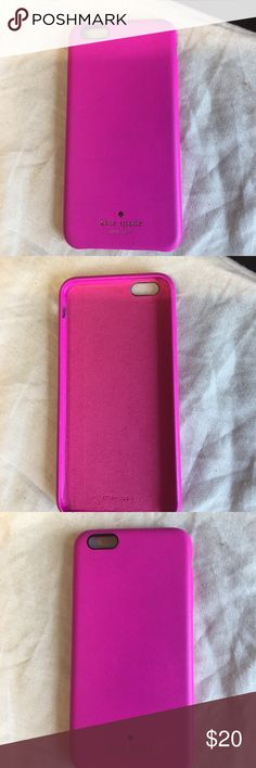 Kate Spade iPhone 6 Plus case Pink and like new Kate Spade iPhone 6 Plus case kate spade Accessories Phone Cases