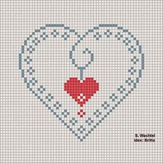Brilliant Cross Stitch Embroidery Tips Ideas. Mesmerizing Cross Stitch Embroidery Tips Ideas. Funny Cross Stitch Patterns, Cross Stitch Heart, Cross Stitch Cards, Beaded Cross Stitch, Cross Stitch Designs, Cross Stitching, Cross Stitch Embroidery, Needlework, Crochet