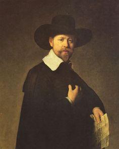 Rembrandt Harmensz. van Rijn: Porträt des Kaufmanns Martin Looten - Gemeinfrei