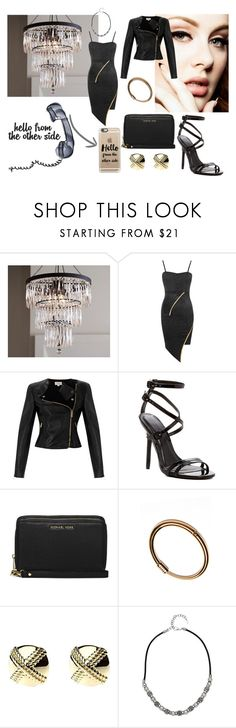 """""""Hello,it's me!"""" by mrs305aka ❤ liked on Polyvore featuring Pottery Barn, WearAll, Temperley London, MICHAEL Michael Kors, Rebecca Taylor, Adele Marie and Casetify"""
