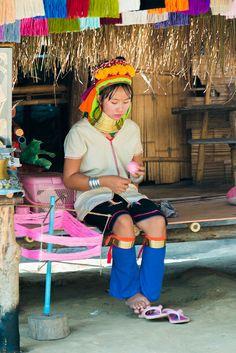 Hill Tribes Villages, Chaing Mai, Thailand