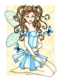 ©Caron Vinson's Blue Fairy