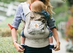 Organic baby carrier from ERGO.