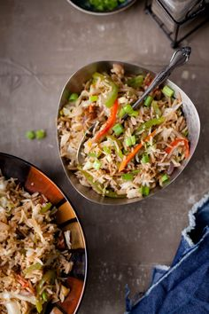 IndoChinese Vegetable Fried Rice